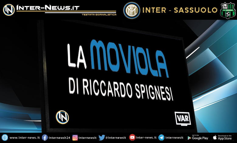 Inter-Sassuolo moviola