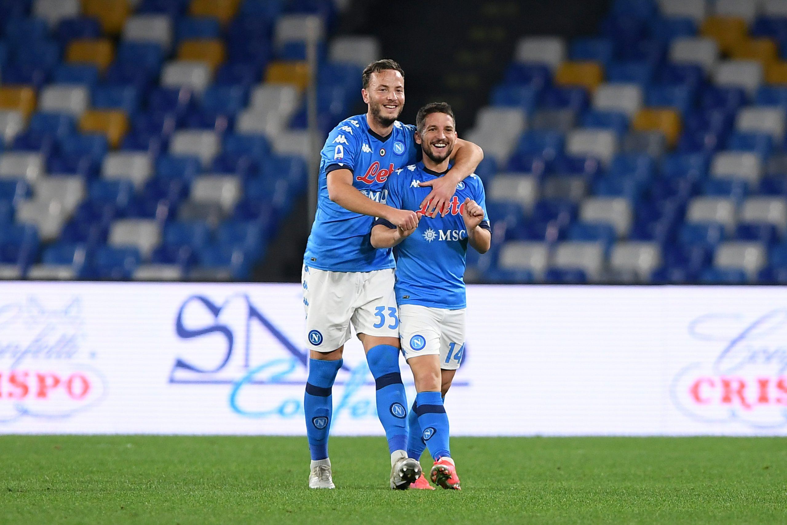 Mertens Rrahmani Napoli-Benevento