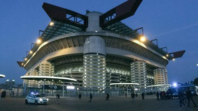 Stadio Giuseppe Meazza Inter in San Siro Inter-Roma