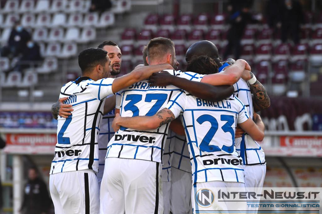 Foto di gruppo in Torino-Inter (Photo by Tommaso Fimiano, Copyright Inter-News.it)