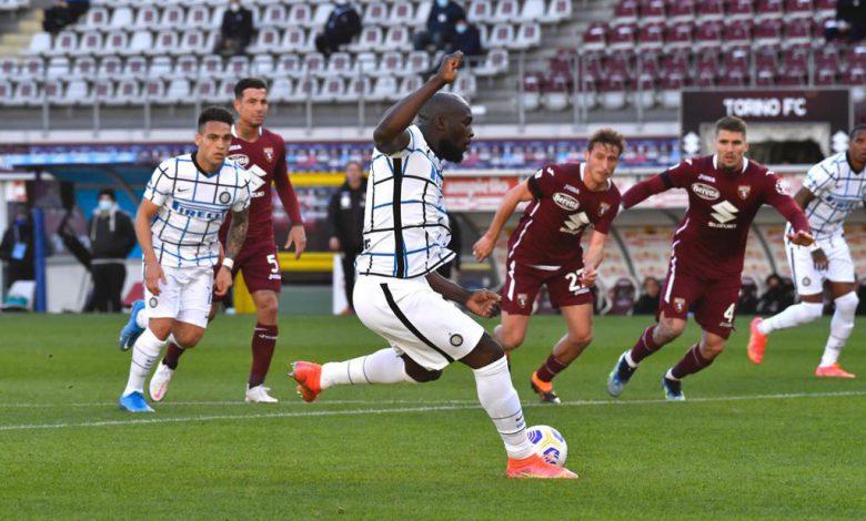 Romelu Lukaku in Torino-Inter (Photo by Tommaso Fimiano, Copyright Inter-News.it)