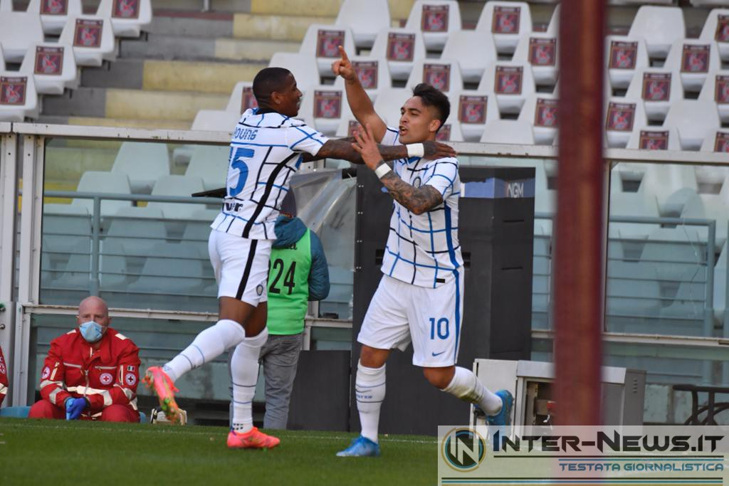 Lautaro Martinez e Young, Torino-Inter, copyright Inter-news.it, foto Tommaso Fimiano