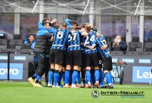 Foto di gruppo in Inter-Cagliari (Photo by Tommaso Fimiano, Copyright Inter-News.it)