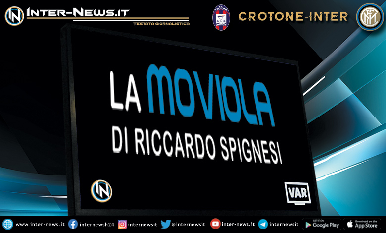 Crotone-Inter moviola