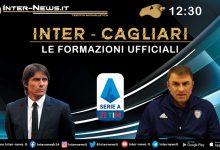 Inter-Cagliari, le formazioni ufficiali