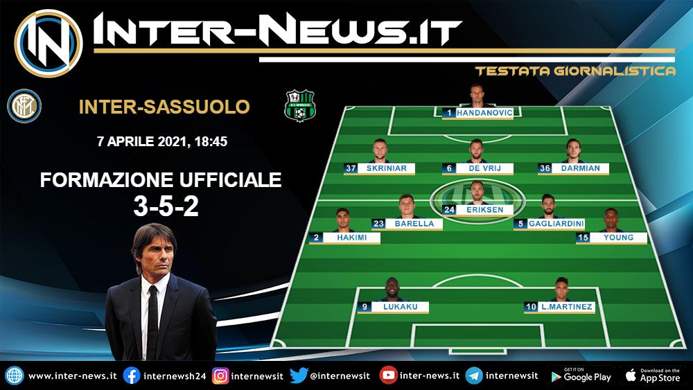 Link xem trực tiếp Inter Milan vs Sassuolo, 23h45 ngày 7/4  |Inter- Sassuolo