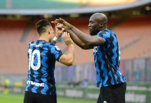 Lukaku-Lautaro Martinez Inter-Sassuolo, copyright Inter-News.it, foto di Tommaso Fimiano