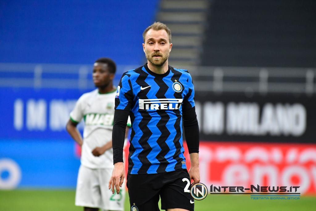 Eriksen Inter-Sassuolo, copyright Inter-News.it, foto di Tommaso Fimiano