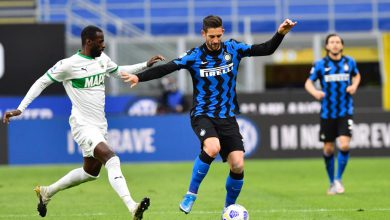 Gagliardini Inter-Sassuolo, copyright Inter-News.it, foto di Tommaso Fimiano