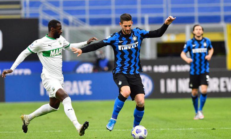 Gagliardini Inter-Sassuolo, copyright Inter-News.it, foto di Tommaso Fimiano