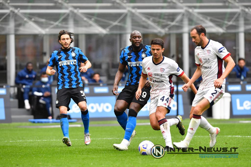 Inter-Cagliari, foto di Tommaso Fimiano, Copyright Inter-News.it