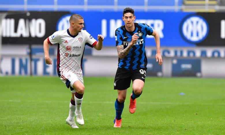 Alessandro Bastoni in Inter-Cagliari (Photo by Tommaso Fimiano, Copyright Inter-News.it