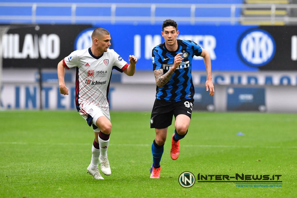 Bastoni, Inter-Cagliari, foto di Tommaso Fimiano, Copyright Inter-News.it