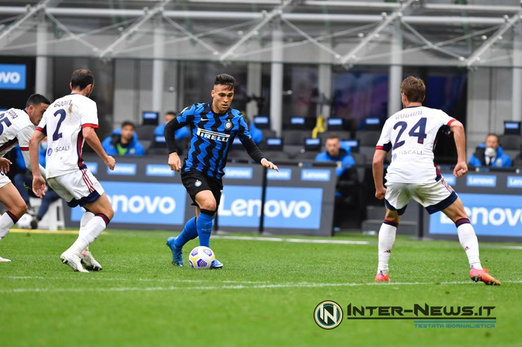 Lautaro Martinez, Inter-Cagliari, foto di Tommaso Fimiano, Copyright Inter-News.it