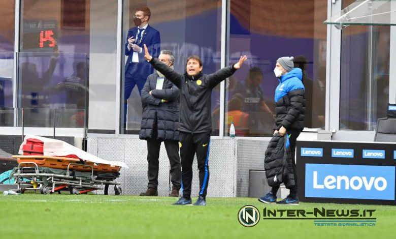 Antonio Conte in Inter-Cagliari (Photo by Tommaso Fimiano, Copyright Inter-News.it)