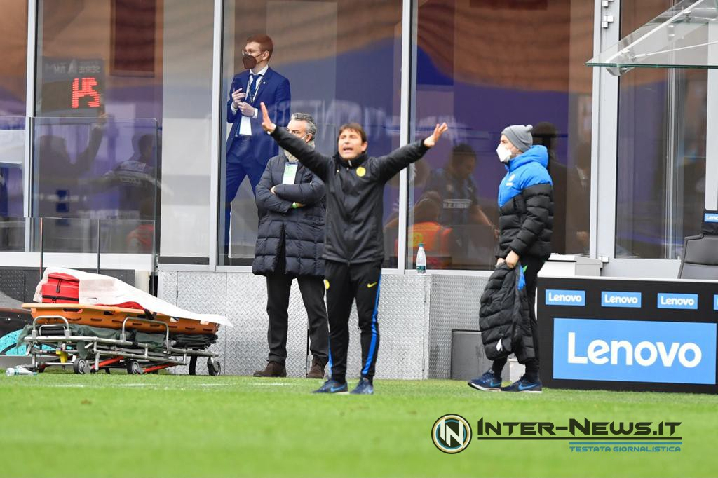 Conte, Inter-Cagliari, foto di Tommaso Fimiano, Copyright Inter-News.it