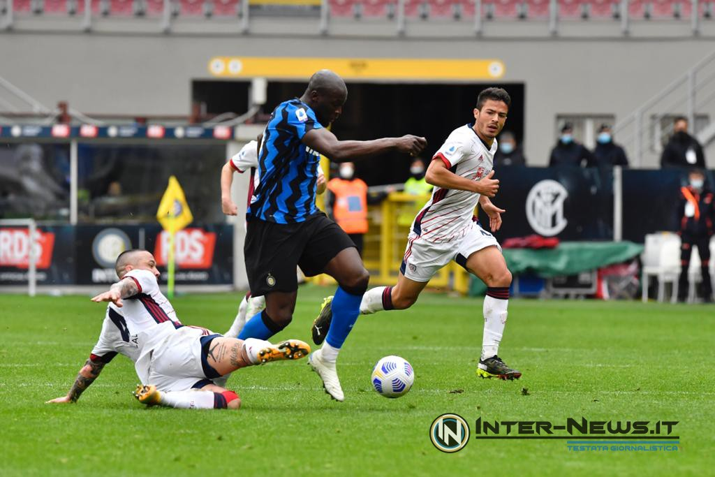 Lukaku, Inter-Cagliari, foto di Tommaso Fimiano, Copyright Inter-News.it