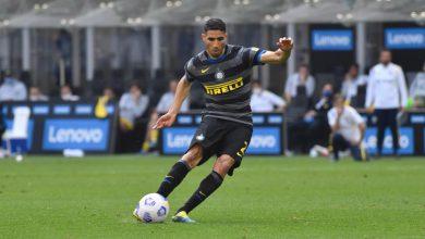 Achraf Hakimi in Inter-Hellas Verona (Photo by Tommaso Fimiano, Copyright Inter-News.it)