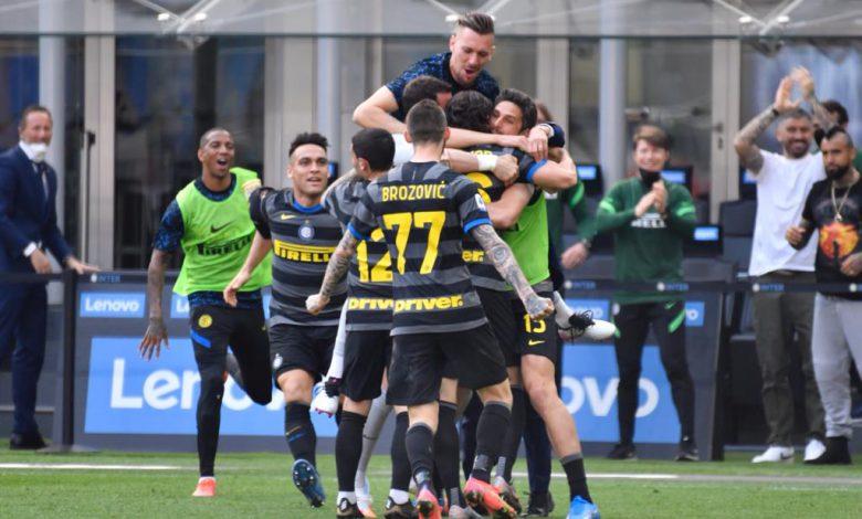 Foto di gruppo in Inter-Hellas Verona (Photo by Tommaso Fimiano, Copyright Inter-News.it)