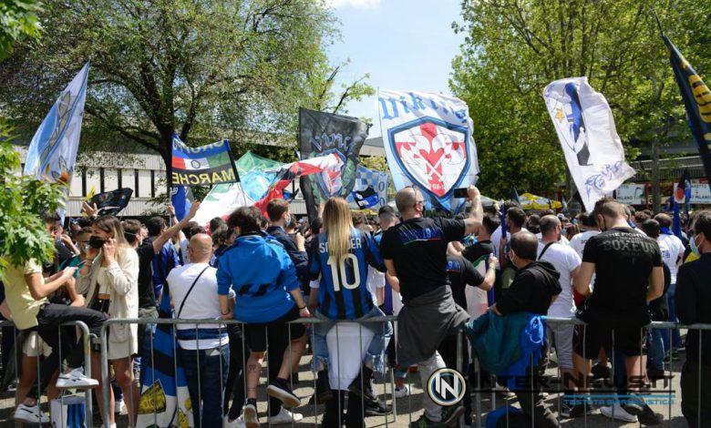 Festa tifosi Inter-Sampdoria (Photo by Tommaso Fimiano, Copyright Inter-News.it)
