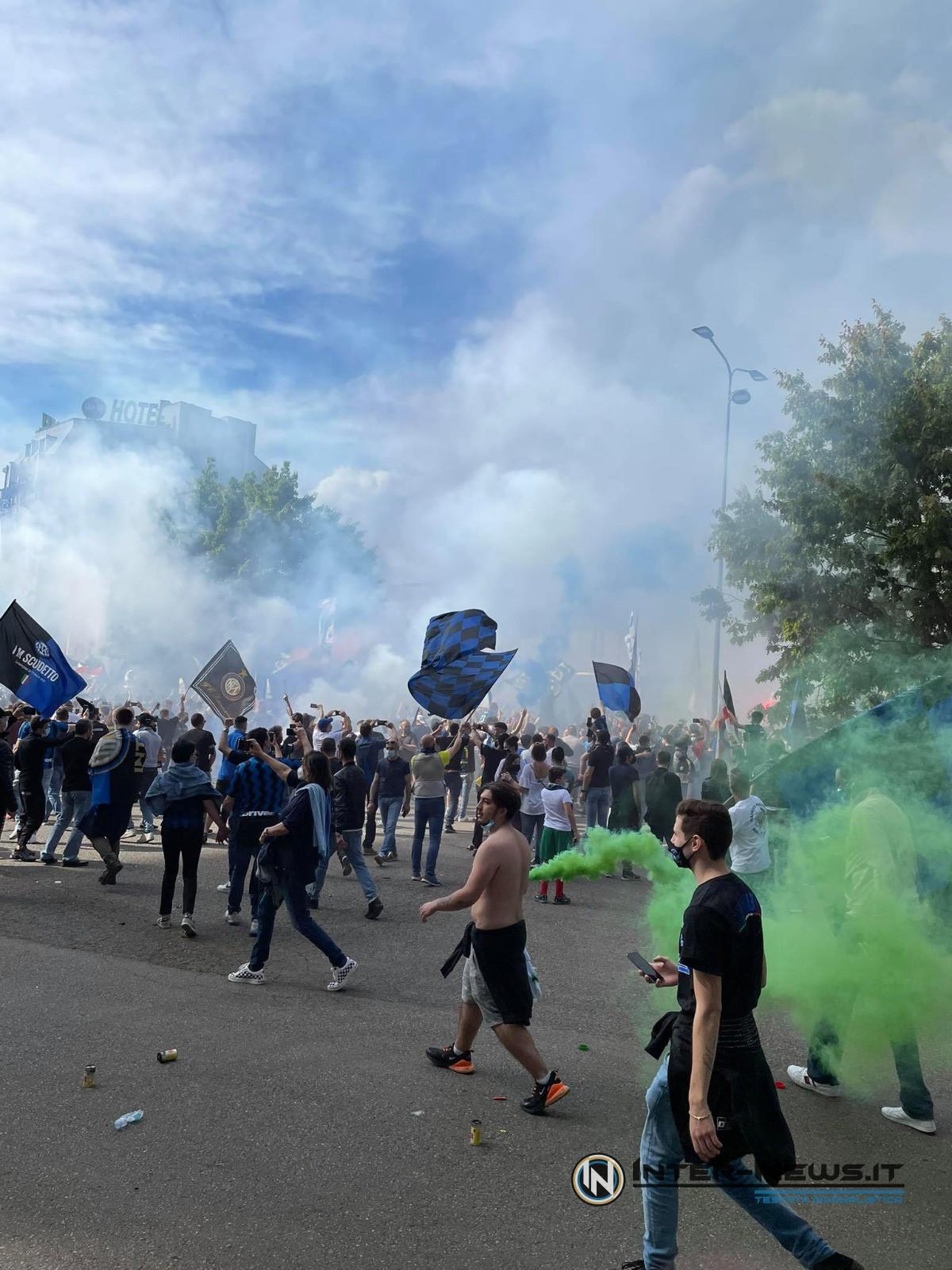 Festa tifosi Inter-Sampdoria (Photo by Giuseppe Cataldo, Copyright Inter-News.it)