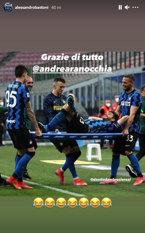 Bastoni D'Ambrosio Ranocchia Inter