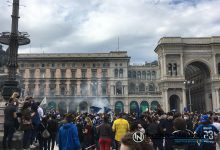 Festa scudetto Inter in Piazza del Duomo a Milano