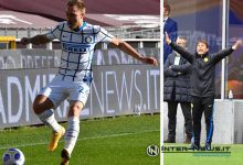 Christian Eriksen - Antonio Conte (Photos by Tommaso Fimiano, Copyright Inter-News.it)
