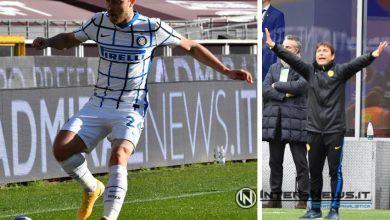 Christian Eriksen - Antonio Conte (Photos by Tommaso Fimiano, Copyright Inter-News.it)