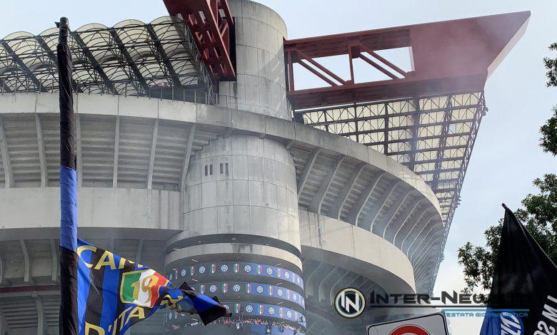 Festa scudetto Inter torre