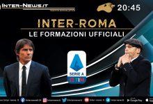 Inter-Roma le formazioni ufficiali