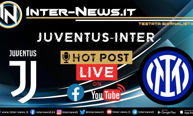 Juventus-Inter hot post