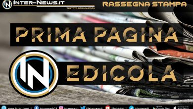 Prima Pagina IN Edicola - Rassegna Stampa