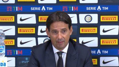Simone Inzaghi in Inter-Lazio