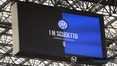 """Tabellone IM SCUDETTO Inter-Sampdoria - Stadio """"Giuseppe Meazza"""" in San Siro (Photo by Tommaso Fimiano, Copyright Inter-News.it)"""
