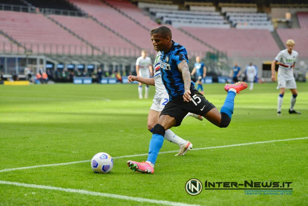 Ashley Young in Inter-Sampdoria (Photo by Tommaso Fimiano, Copyright Inter-News.it)