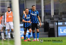 Alexis Sanchez e Achraf Hakimi in Inter-Sampdoria (Photo by Tommaso Fimiano, Copyright Inter-News.it)