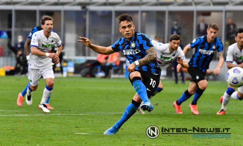 Lautaro Martinez in Inter-Sampdoria (Photo by Tommaso Fimiano, Copyright Inter-News.it)