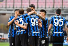 Foto di gruppo in Inter-Sampdoria (Photo by Tommaso Fimiano, Copyright Inter-News.it)