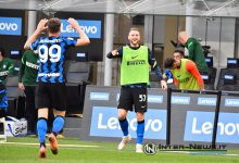 Andrea Pinamonti e Milan Skriniar in Inter-Sampdoria (Photo by Tommaso Fimiano, Copyright Inter-News.it)