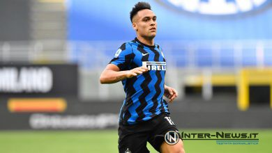 Lautaro Martinez in Inter-Sampdoria (Photo by Tommaso Fimiano, Copyright Inter-News.it)