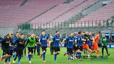 Foto di gruppo in Inter-Sampdoria (Photo by Tommaso Fimiano, Copyright Inter-News.it)