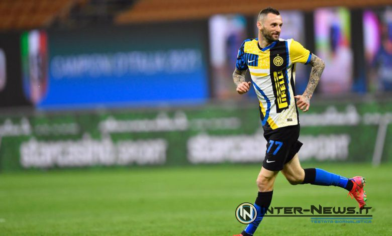 Marcelo Brozovic in Inter-Roma (Photo by Tommaso Fimiano, Copyright Inter-News.it)