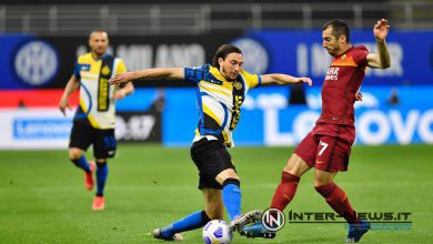 Matteo Darmian in Inter-Roma (Photo by Tommaso Fimiano, Copyright Inter-News.it)