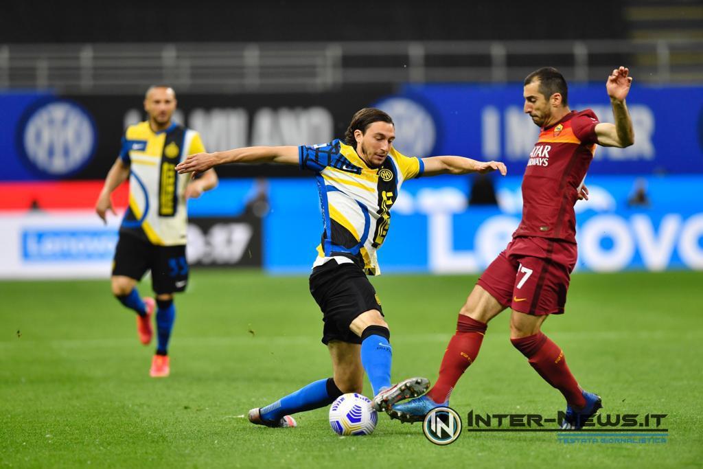 Matteo Darmian in Inter-Roma (Photo by Tommaso Fimiano, Copyright Inter-News.it)