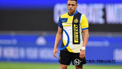 Alexis Sanchez in Inter-Roma (Photo by Tommaso Fimiano, Copyright Inter-News.it)
