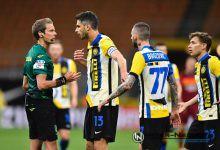 Ranocchia, Brozovic e Barella, Inter-Roma, foto di Tommaso Fimiano, Copyright Inter-News.it