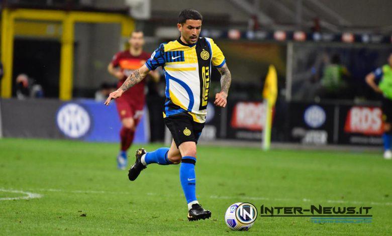 Stefano Sensi in Inter-Roma (Photo by Tommaso Fimiano, Copyright Inter-News.it)