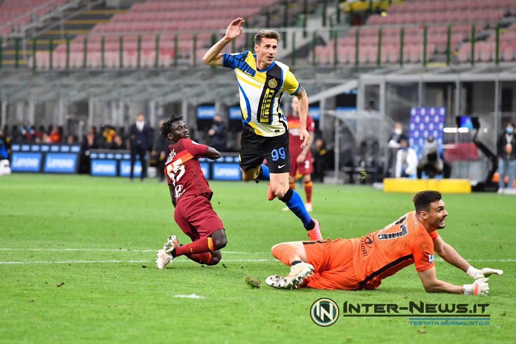 Pinamonti, Inter-Roma, foto di Tommaso Fimiano, Copyright Inter-News.it