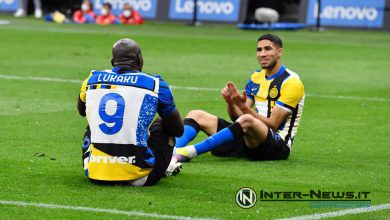 Lukaku-Hakimi, Inter-Roma, foto di Tommaso Fimiano, Copyright Inter-News.it